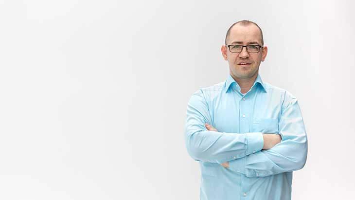 Marek ist Frontend Portslmanager bei Kreditissimo.com
