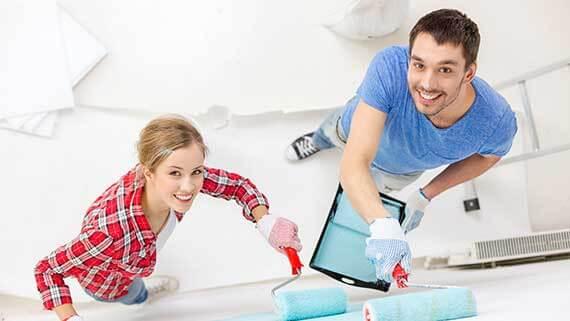 Mit einem Renovierungskredit von Kreditissimo ein schönes zu Hause schaffen