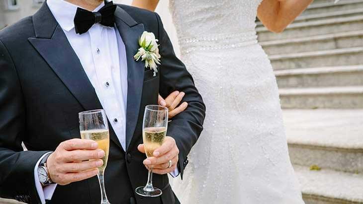 Dank dem Hochzeitskredit von Kreditissimo wird die Traumhochzeit möglich.